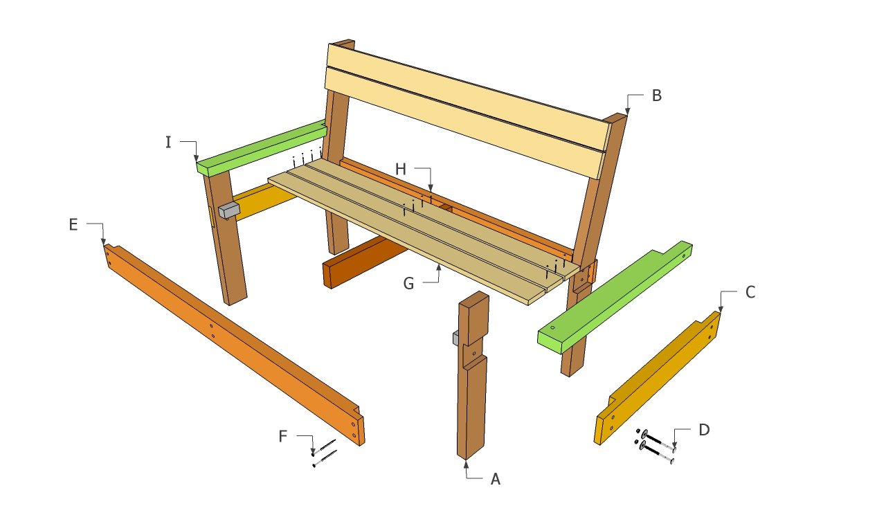 woodworking bench plan
